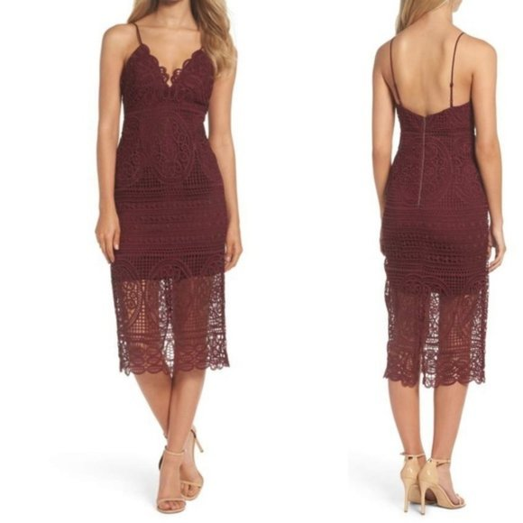 Bardot Dresses   Bardot Revolve Versailles Lace Pencil